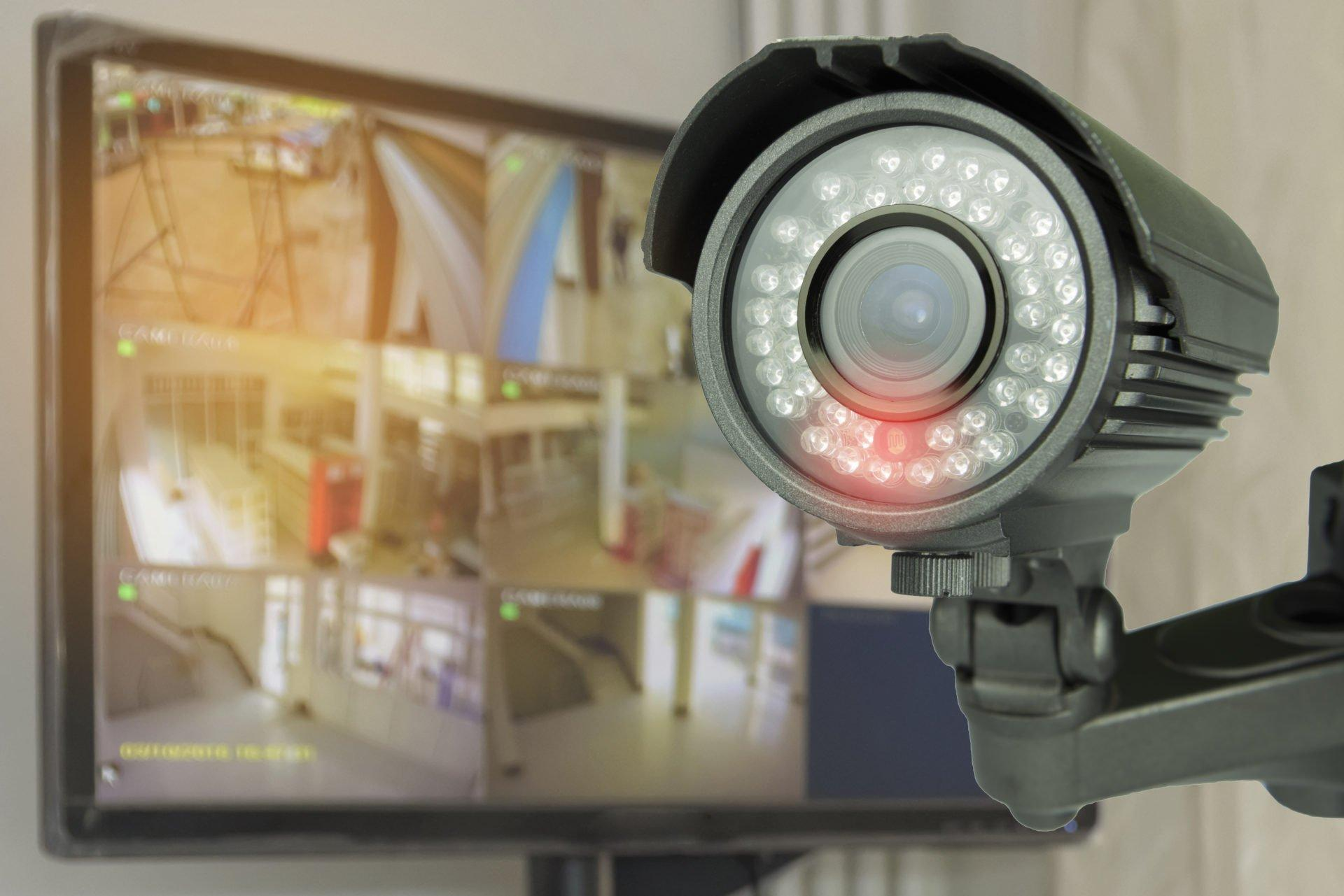 commercial Security CCTV camera